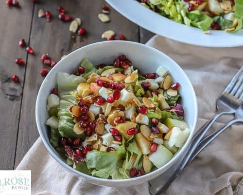 Christmas Salad.Christmas Salad