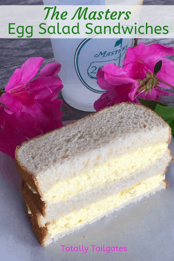 The famous Masters Egg Salad Sandwich! This egg salad sandwich recipe is a delicious and easy classic.  #themelrosefamily #eggsaladsandwich via @jennymelrose