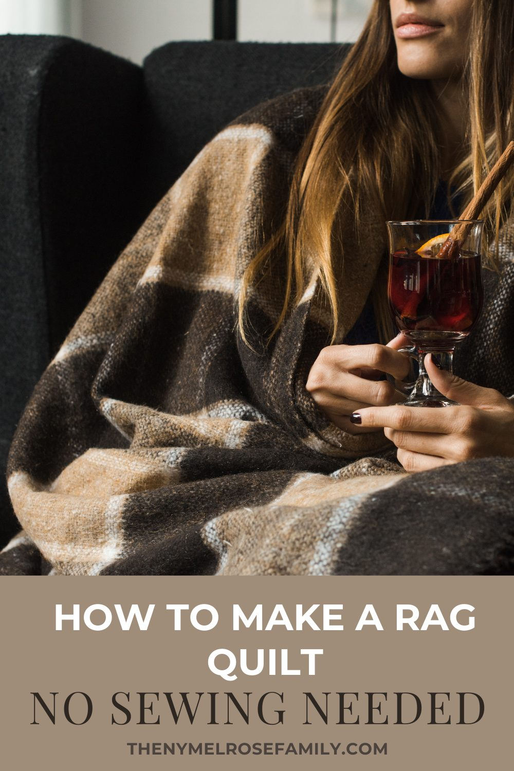If you are a DIY enthusiast like me, then you know how satisfying it feels to create a new product out of old materials. In this post, I'd like to teach you how to make a rag quilt without sewing! You can use this quilt for yourself, or you can gift it to friends and loved ones. You can even customize it by choosing fabrics that will complement your recipient's personality. The finished product will feel comfortable and will look amazing. #themelrosefamily #doityourself #diyproject #crafty #diys #diyideas #artsandcrafts diydecor #craft #imadethis #handcrafted #crafts #maker #makers via @jennymelrose