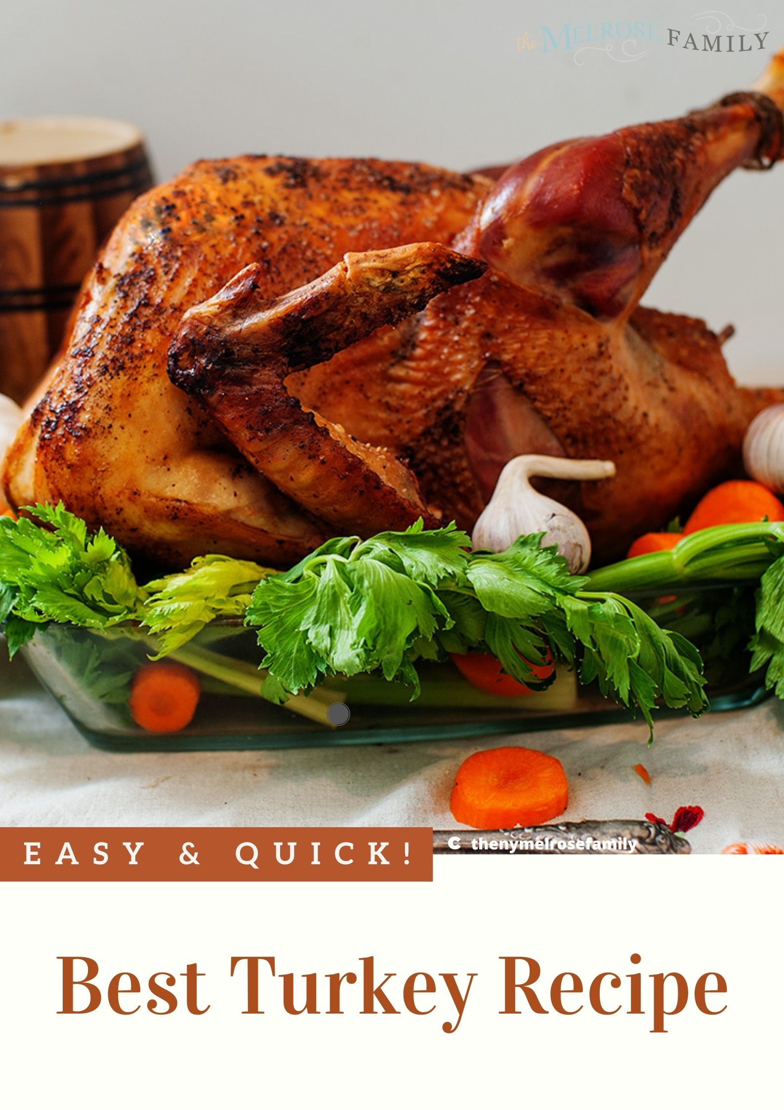 The Best Turkey Recipe via @jennymelrose
