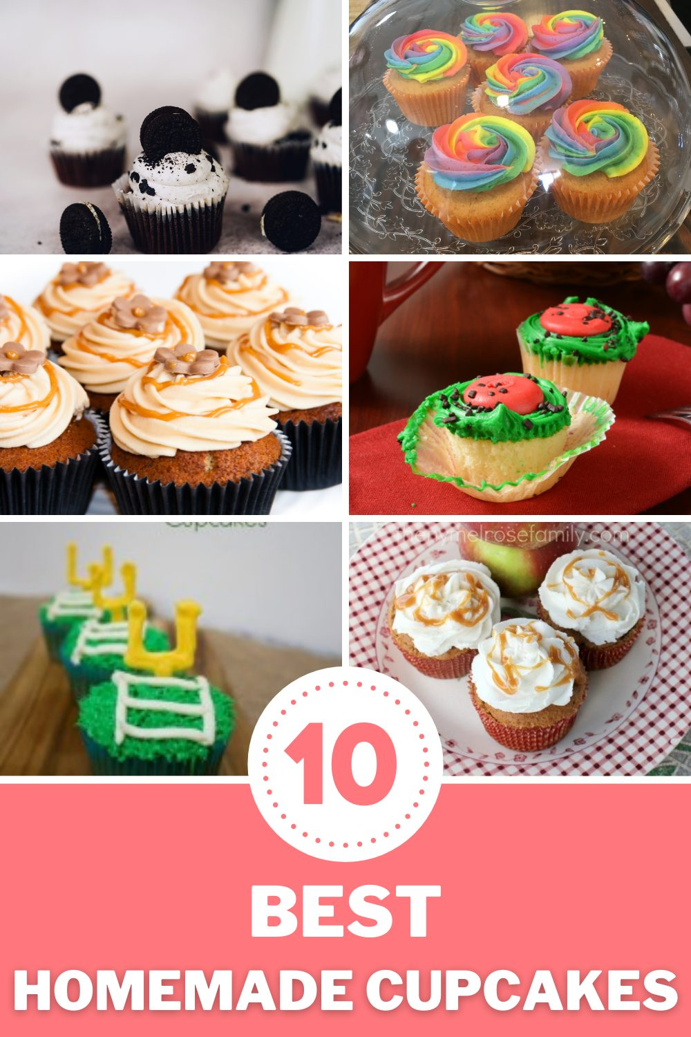 Our best of the best cupcake recipes for you and your family. Super yummy, easy to make and perfect for any occasion. #cupcakerecipes #bestcupcakes #homemade #nymelrosefamily via @jennymelrose