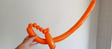 completed balloon sword