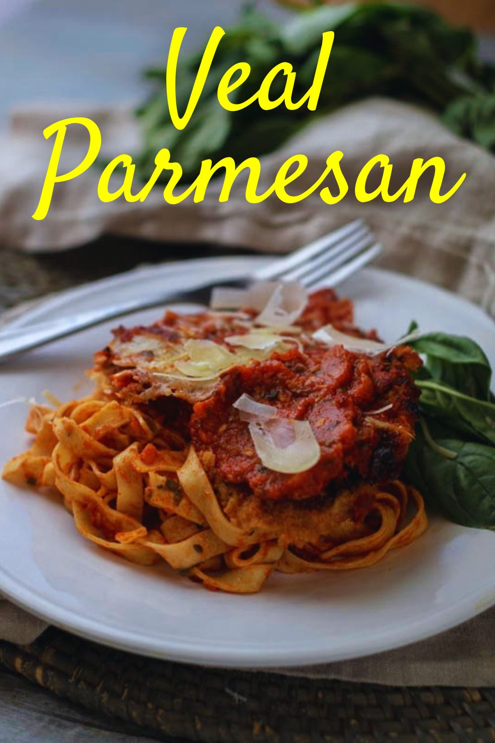 This Veal Parmesan recipe is bursting with Italian flavor and comes together quite easily, including the breaded veal cutlets, the marinara sauce, and the finished product, complete with creamy mozzarella and delicious parmesan. Full recipe and tips available on our site!! #vealparmesan #vealrecipes #italianrecipes #homemade #nymelrosefamily via @jennymelrose