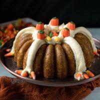 halloween bundt cake