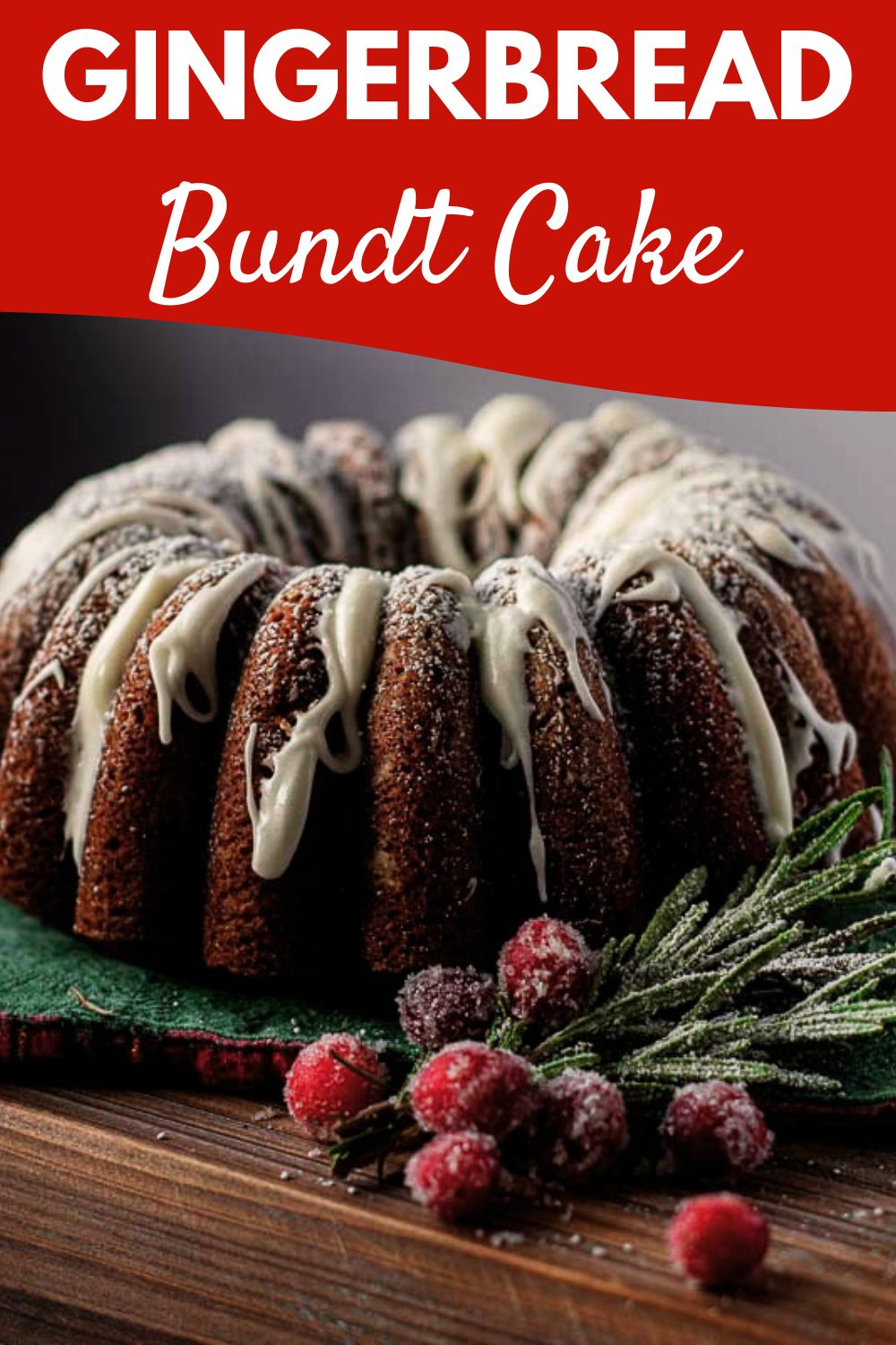 This spiced gingerbread bundt cake is everything that the holidays promise: soft cake texture, spiced ginger flavor, and a touch of orange. Full recipe and tips available on our site! via @jennymelrose