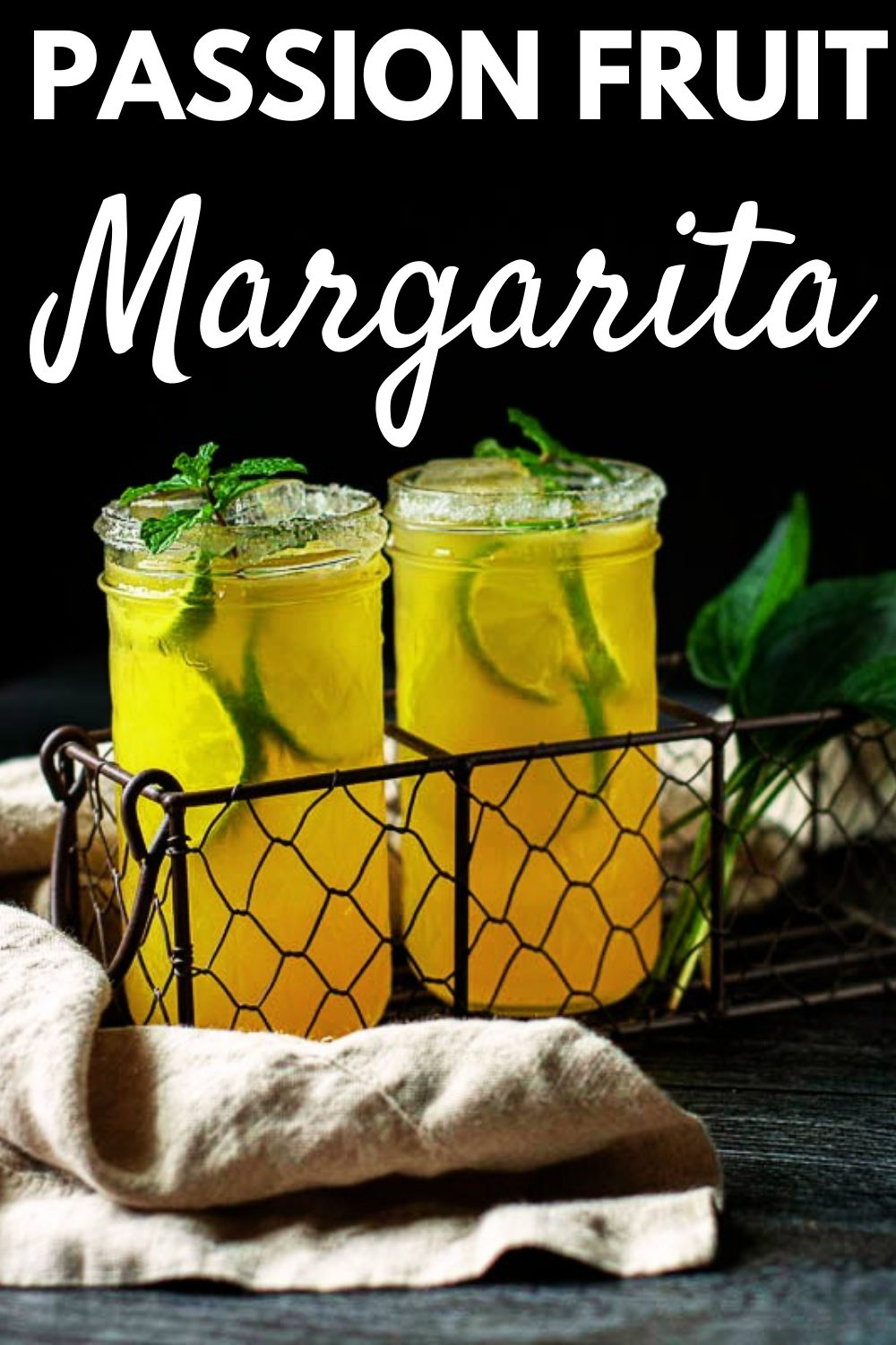 This passion fruit margarita is full of passion fruit flavor and sweetness, bright citrus lime, & a punch of tequila making it a great holiday drink. Do give it a try! Full recipe and tips available on our site. via @jennymelrose